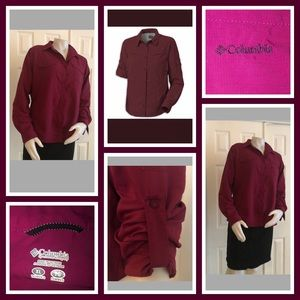 Columbia Omni-Shade Long Sleeve Shirt XL